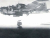 B-17 \'Rack and Ruin\' releasing its bomb load