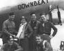 The crew of \'Downbeat\'