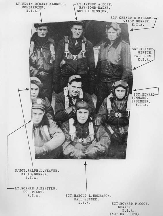 Photo of the doomed crew (see previous image)
