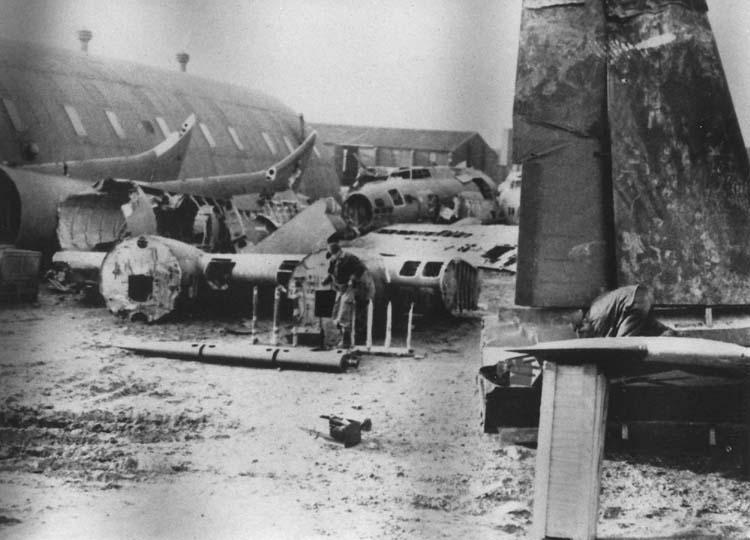 The 'aircraft graveyard'