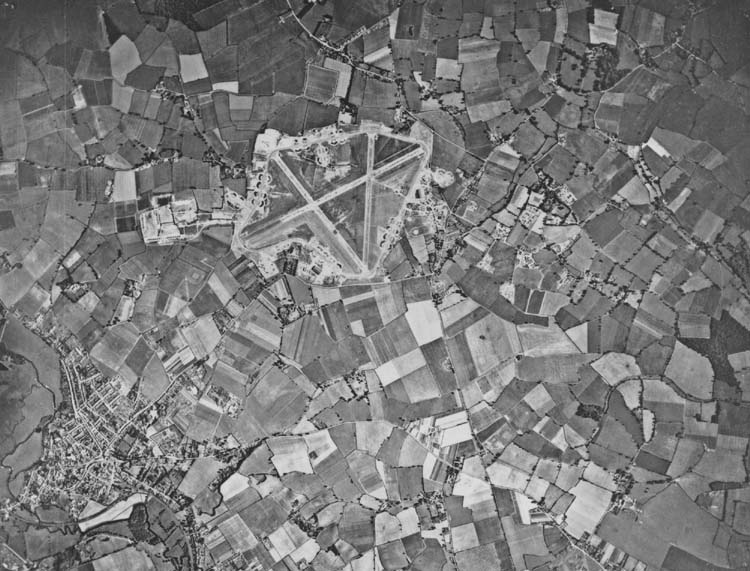 Aerial view of Station 174 Sudbury