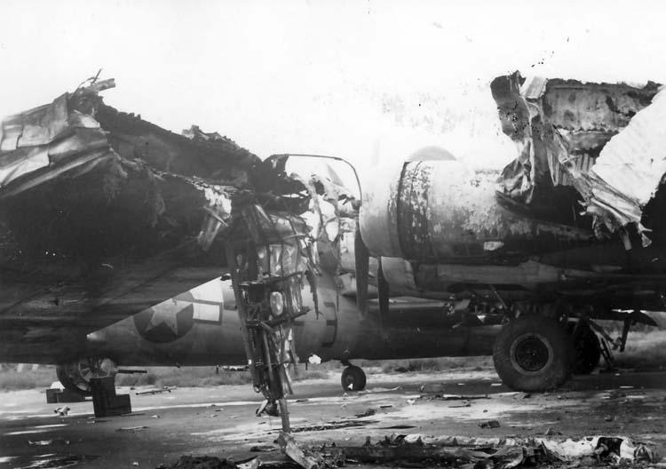 B-17 collision 2
