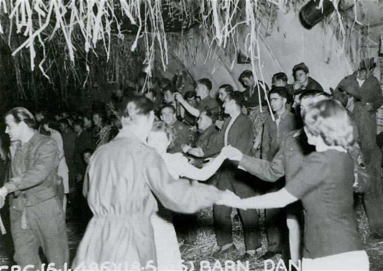 Barn dance on the base.