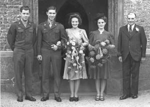 Wedding photo of Joyce and Cliff