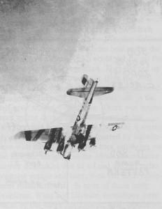 Walt Center's doomed B-17