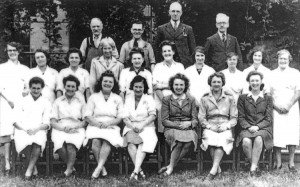 English and American staff who worked at the Red Cross Club in East Street